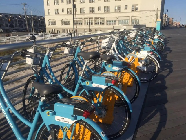 Bikes you can rent on the Long Beach boardwalk
