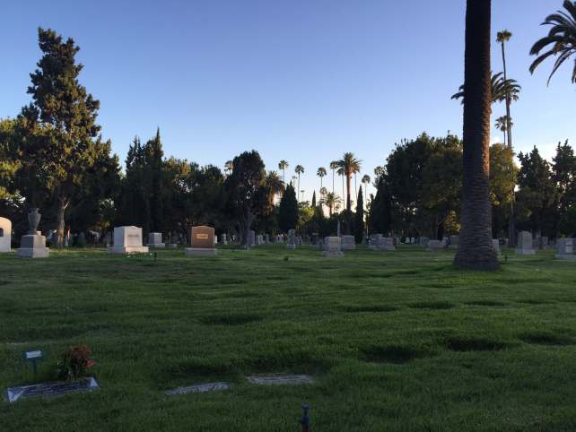 """""""Hollywood Forever Cemetery Movie Night"""" - Two Traveling Texans"""
