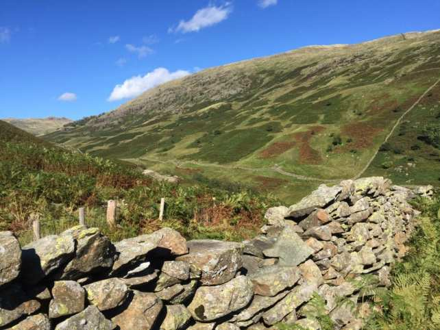 """This was the terrain at the highest points of our hike. - """"An Introduction to England's Lake District"""" - Two Traveling Texans"""