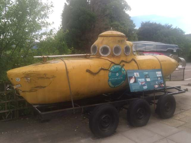 "Submarine used in the 1969 Investigation - ""Loch Ness: Searching for Nessie"" - Two Traveling Texans"