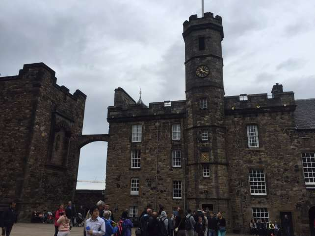 "Inside this building you will find the Crown Jewels. Warning get there early, just look at the line. - ""Experiencing History at Edinburgh Castle"" - Two Traveling Texans"