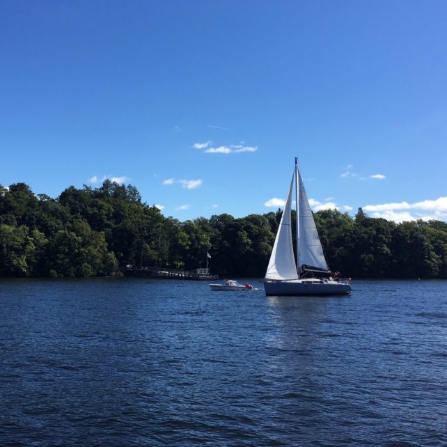 """What a gorgeous day to be out on Lake Windermere - """"An Introduction to England's Lake District"""" - Two Traveling Texans"""