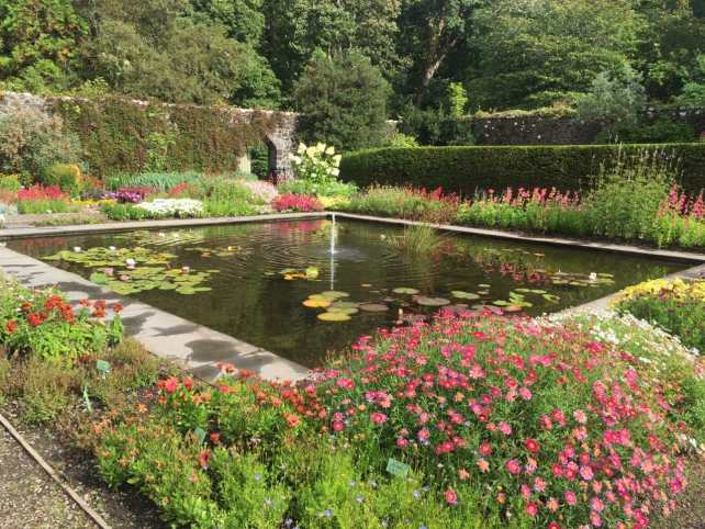 "Inside the walled garden, so many beautiful flowers. - ""Dunvegan Castle and the Fairy Flag"" - Two Traveling Texans"