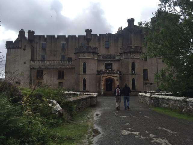 """The entrance to Dunvegan Castle. - """"Dunvegan Castle and the Fairy Flag"""" - Two Traveling Texans"""