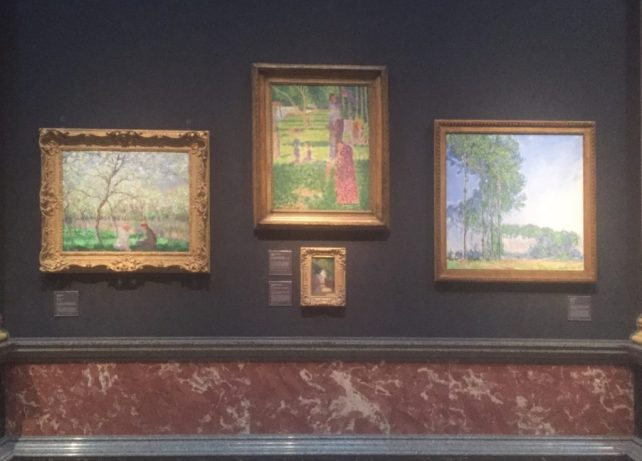 """A sample of the modern art at the Fitzwilliam. - """"Why You Should Visit the Fitzwilliam Museum in Cambridge"""" - Two Traveling Texans"""
