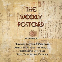 The Weekly Postcard - Two Traveling Texans