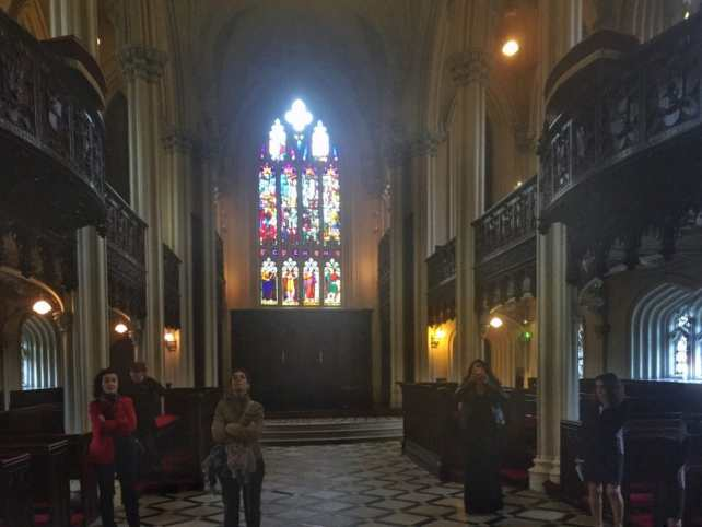 "Inside the Chapel Royal, you see the amazing woodwork - some of it even looks like stone. - ""What You Need to Know About Visiting Dublin Castle"" - Two Traveling Texans"