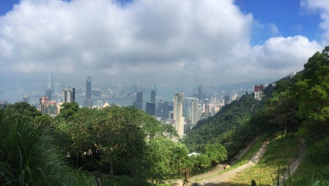 """Another great view from the top of Victoria Peak. - """"Don't Miss Victoria Peak When Visiting Hong Kong"""" - Two Traveling Texans"""