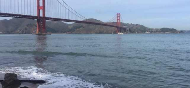Biking Across the Golden Gate Bridge: Another off my Bucket List!