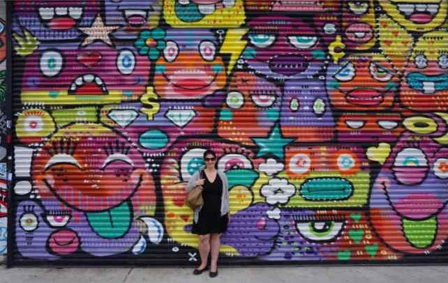 """This area really is an instagrammer's heaven. So many great photo spots! - """"Brooklyn Graffiti and Street Art Tour"""" - Two Traveling Texans"""