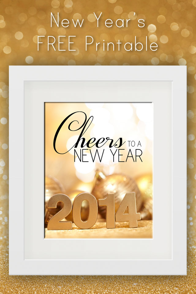 free new years eve printable
