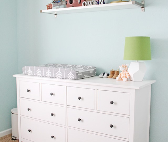 Ikea Dresser Nursery