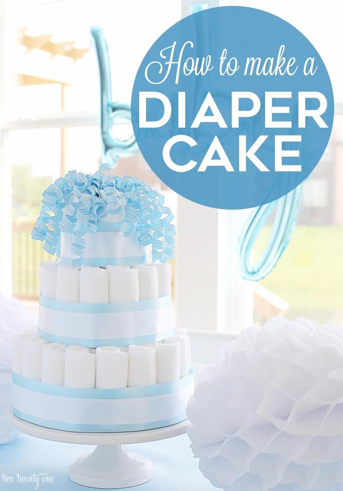 How To Make A Diaper Cake Step By Step Tutorial