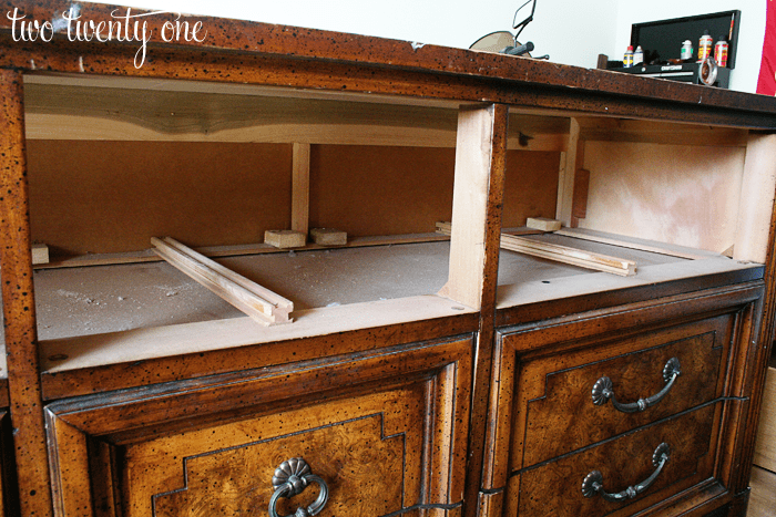 Dressers Turned Tv Stands