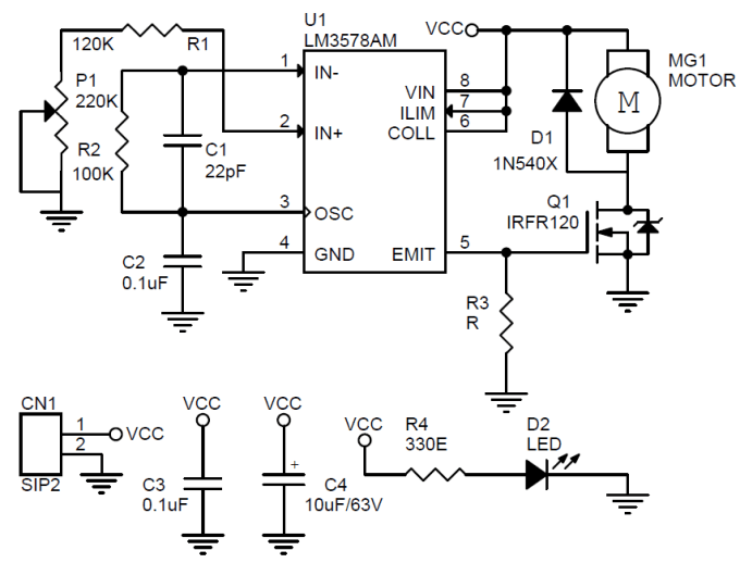 mosfet based stepper motor driver