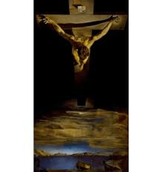 Christ on the Cross_Dali