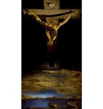 Christ on the Cross_Dali