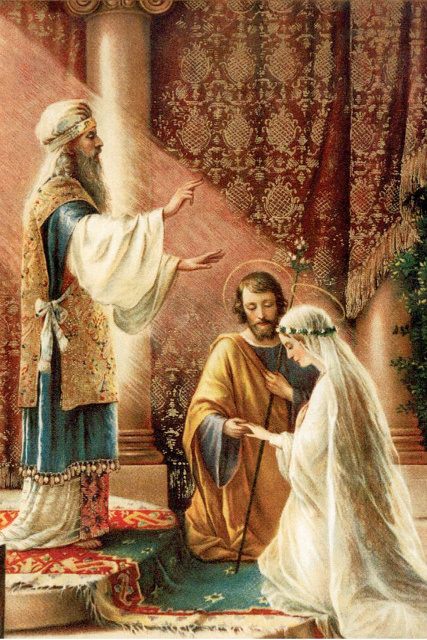 St. Joseph and Our Lady Marriage