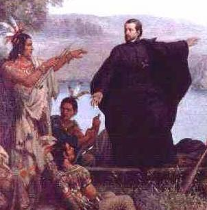 Mission to Indians--Marquette