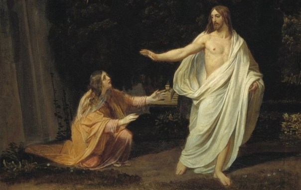Jesus appearance to ST. Mary Magdalene