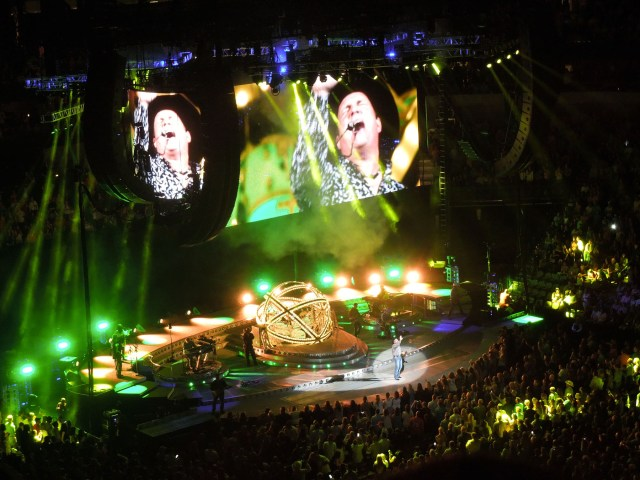 Lasso staffer Tabitha Gray was one of the thousands in attendance during Garth Brooks concert at the American Airlines Center in Dallas. (Photo by Tabitha Gray)