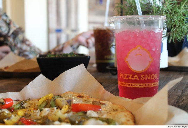 Pizza Snob uses fresh, top-shelf ingredients for their mouth watering oven-baked pizzas.