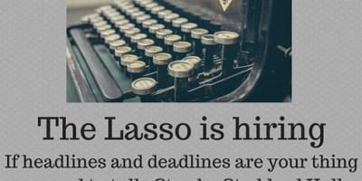 The Lasso is hiring (1)