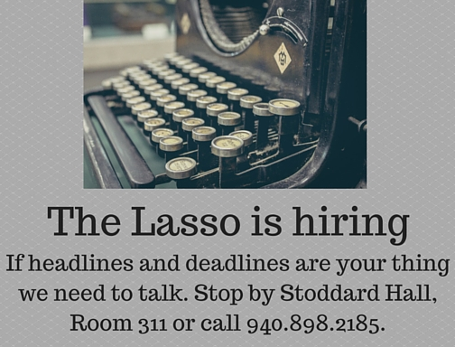 The Lasso is hiring (1)