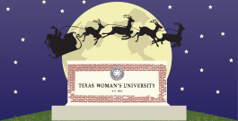 Holiday Gift Program provides support to TWU students with kids during the holiday season