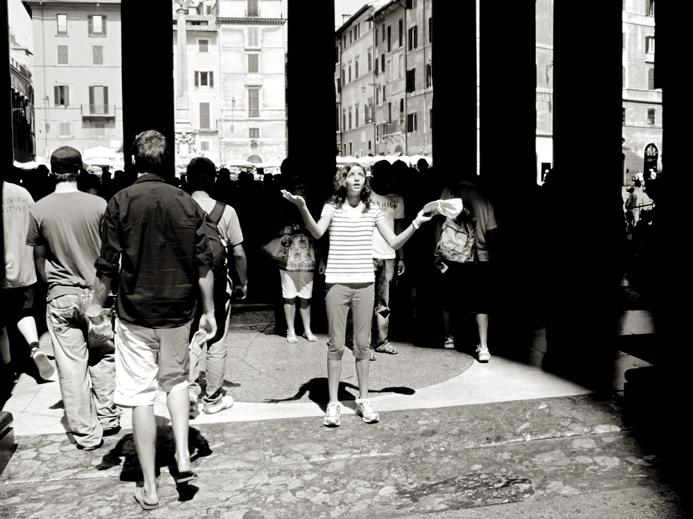Love revelation. Panteon, Roma. 2009