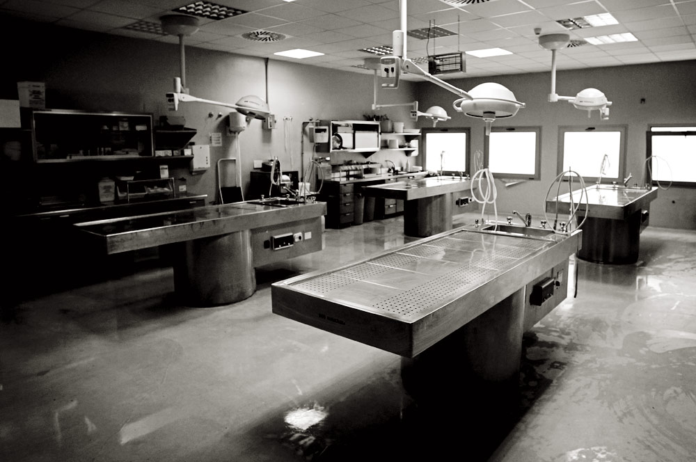 Sala de autopsias