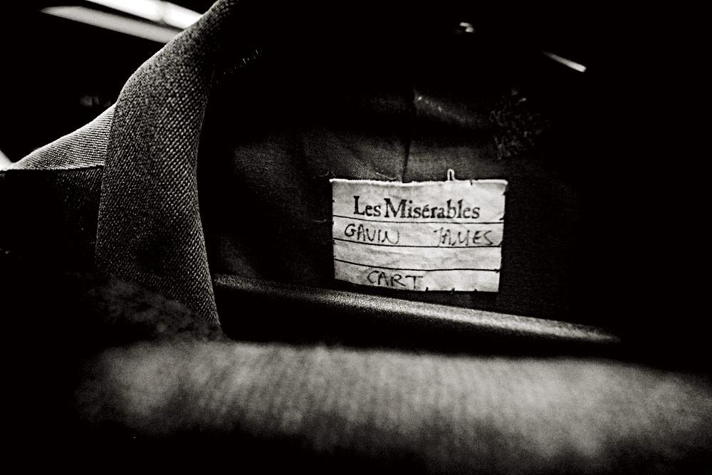 Un traje original de la primera representación de Los Miserables