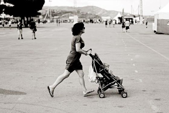 Una madre que llegaba tarde