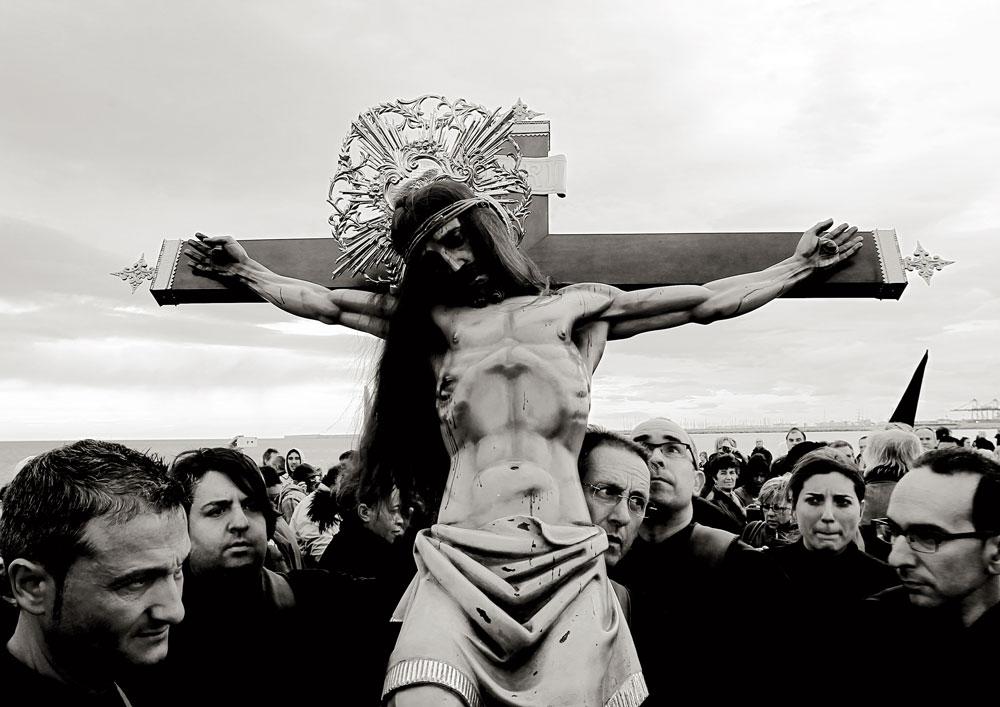 Encuentro de los Cristos y oración por los difuntos en el mar, Semana Santa de 2013.