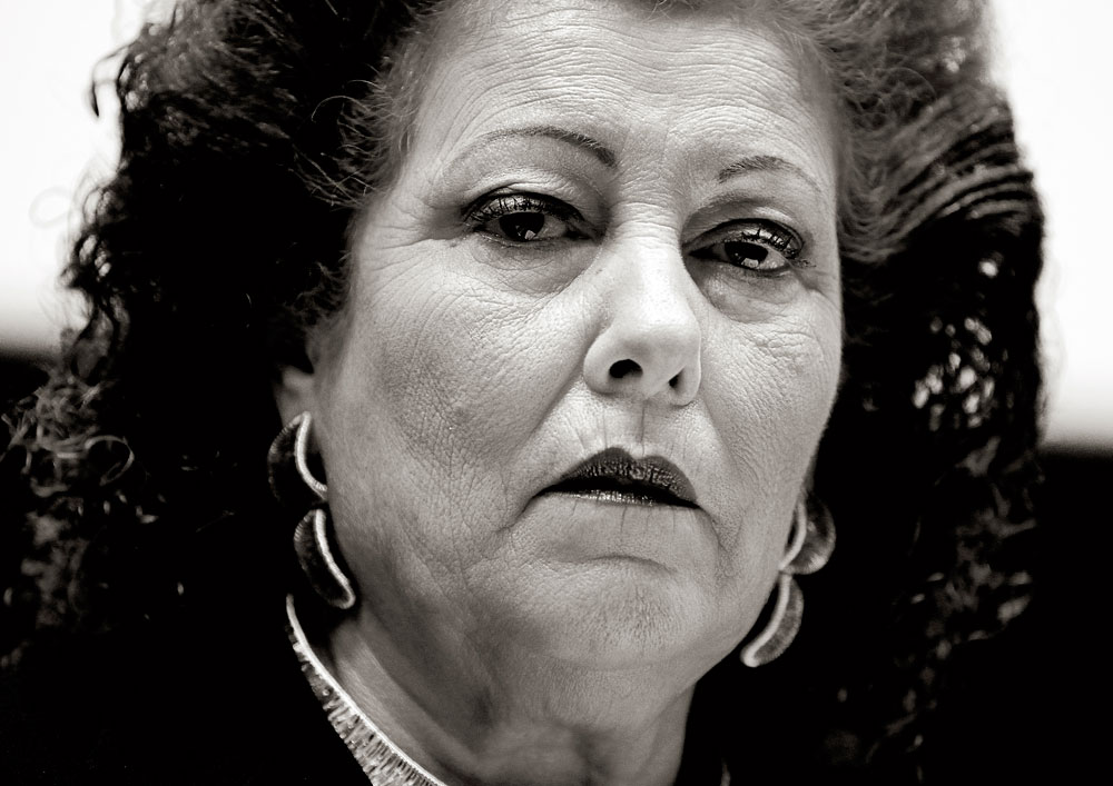 Consuelo Ciscar, ex directora del Ivam. Enero de 2011.