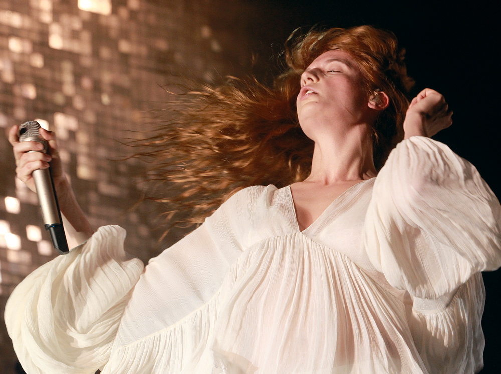 Florence Welch. 2015