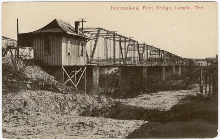 Laredo Texas Footbridge