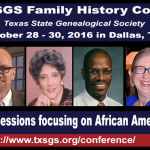 TxSGS 2016 African American Research