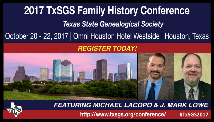 TxSGS 2017 Register Today