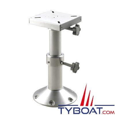 vetus pied de table telescopique reglable 290 a 690 mm