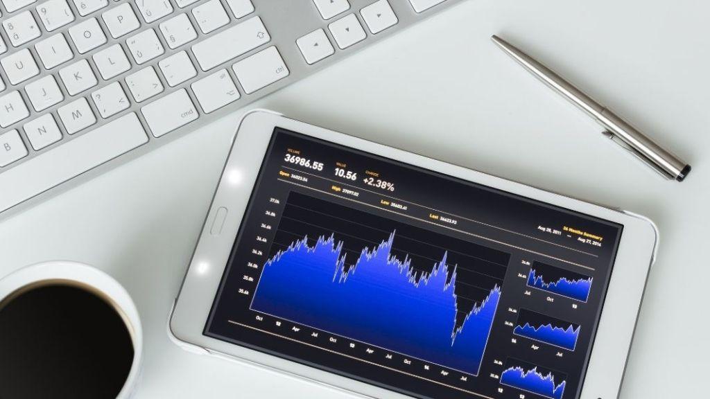 stock monitoring - tablet