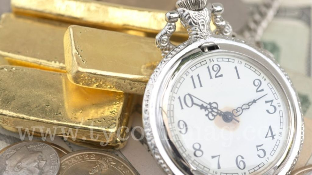 Watch and Gold Bars
