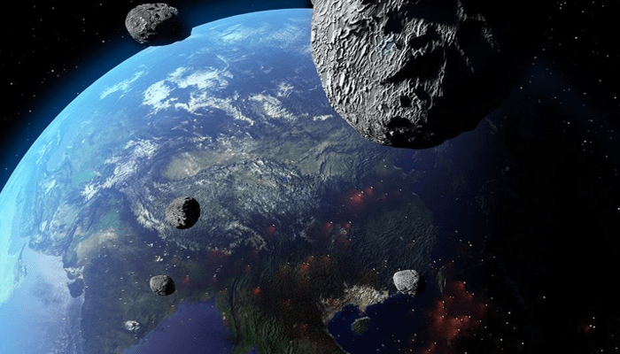 Four Asteroids Are Flying Uncomfortably Close To Earth Today : NASA