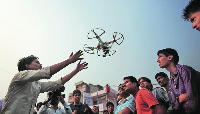 India to keep eyes on drones: Andhra Pradesh