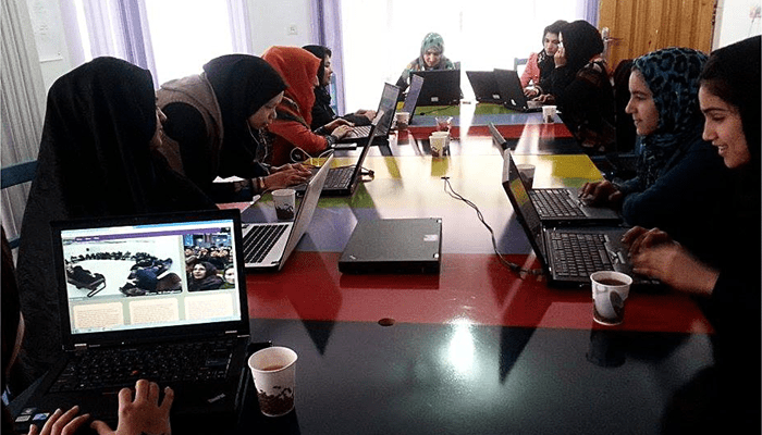 Afghanistan's female coders who are defying gender stereotypes