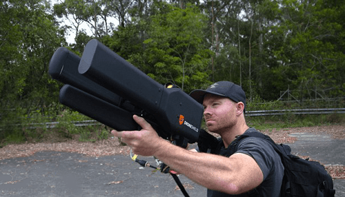 Anti DRONE Guns are brought for combat UAVs