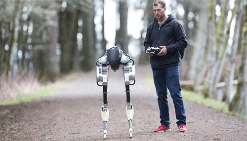 US robotics firm announces walking, running delivery robot