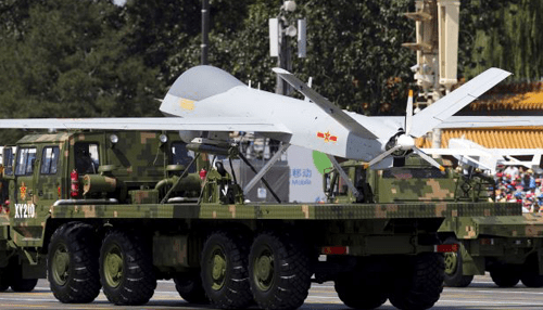 China says it has received its largest foreign drone order