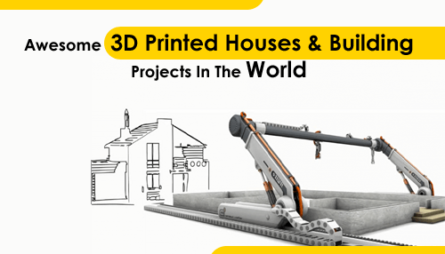 29 Awesome 3D Printed Houses & Building Projects In The World