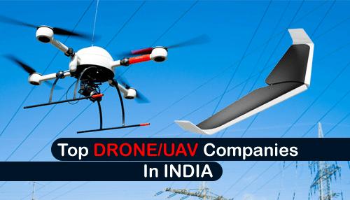 Top DRONE-UAV Startups in INDIA